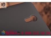 Фирменная задняя панель-крышка-накладка из тончайшего и прочного пластика для  Lenovo Zuk Z1 черная..