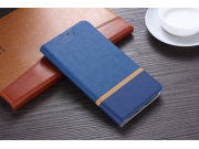 Фирменный чехол-книжка водоотталкивающий с мульти-подставкой на жёсткой металлической основе для  Lenovo Zuk Z..