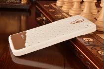"""Фирменная необычная уникальная полимерная мягкая задняя панель-чехол-накладка для Lenovo Zuk Z1  """"тематика Андроид в Белом  Шоколаде"""""""