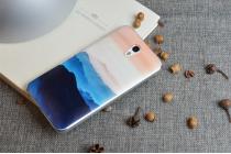 """Фирменная ультра-тонкая полимерная задняя панель-чехол-накладка из силикона для Lenovo Zuk Z1 тематика  """"Горы"""""""