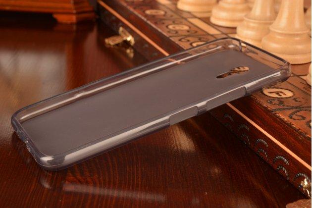 Фирменная ультра-тонкая полимерная из мягкого качественного силикона задняя панель-чехол-накладка для  Lenovo Zuk Z1  черная