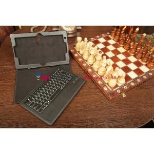 Фирменный оригинальный со съёмной Bluetooth-клавиатурой для Lenovo ThinkPad Tablet 2 10 черный кожаный + гарантия