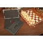 Фирменный оригинальный со съёмной Bluetooth-клавиатурой для Lenovo ThinkPad Tablet 2 10 черный кожаный + гаран..