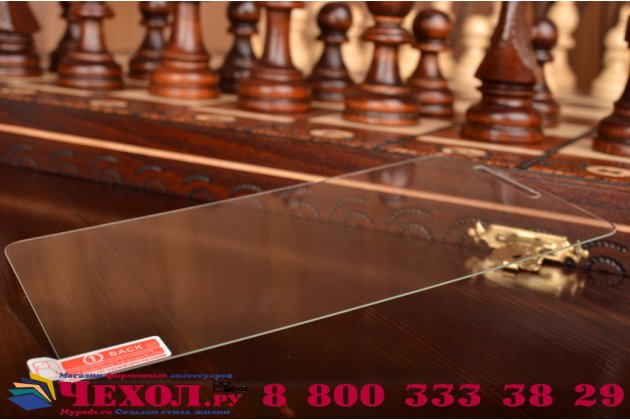 Фирменное защитное закалённое противоударное стекло премиум-класса из качественного японского материала с олеофобным покрытием для Lenovo  A936