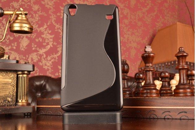 Фирменная ультра-тонкая полимерная из мягкого качественного силикона задняя панель-чехол-накладка для Lenovo A936 черная