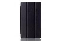 """Фирменный умный чехол самый тонкий в мире для планшета Lenovo IdeaTab 2 A7-10F  """"Il Sottile"""" черный пластиковый"""