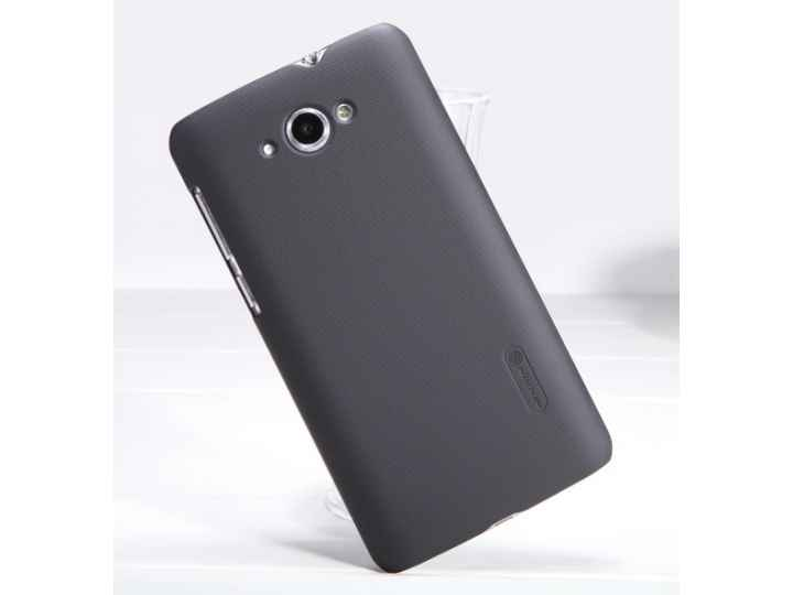 Фирменная задняя панель-крышка-накладка из тончайшего и прочного пластика для Lenovo S930 черная..