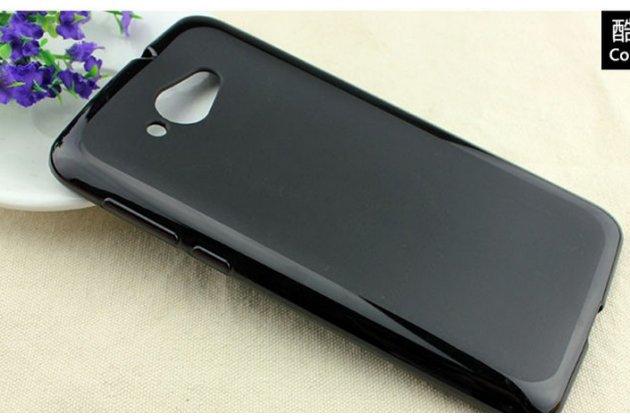Фирменная ультра-тонкая полимерная из мягкого качественного силикона задняя панель-чехол-накладка для Lenovo S930 черная