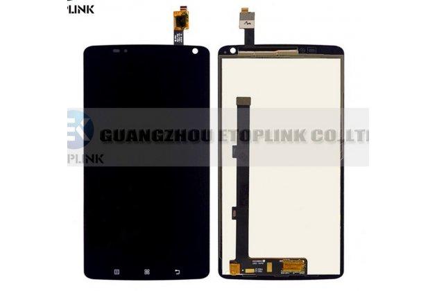 Фирменный LCD-ЖК-сенсорный дисплей-экран-стекло с тачскрином на телефон Lenovo S930 черный + гарантия