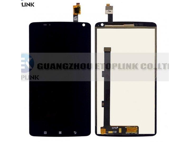Фирменный LCD-ЖК-сенсорный дисплей-экран-стекло с тачскрином на телефон Lenovo S930 черный + гарантия..