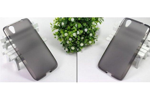 Фирменная ультра-тонкая полимерная из мягкого качественного силикона задняя панель-чехол-накладка для Lenovo S960 Vibe X черная