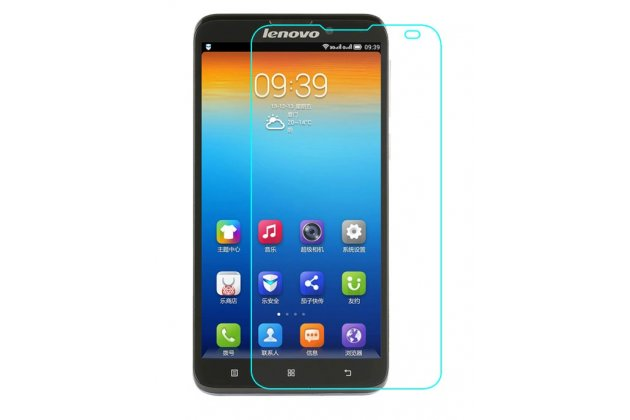Фирменная оригинальная защитная пленка для телефона Lenovo S939 глянцевая