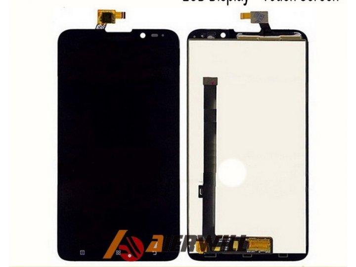 Фирменный LCD-ЖК-сенсорный дисплей-экран-стекло с тачскрином на телефон Lenovo S939 черный + гарантия..