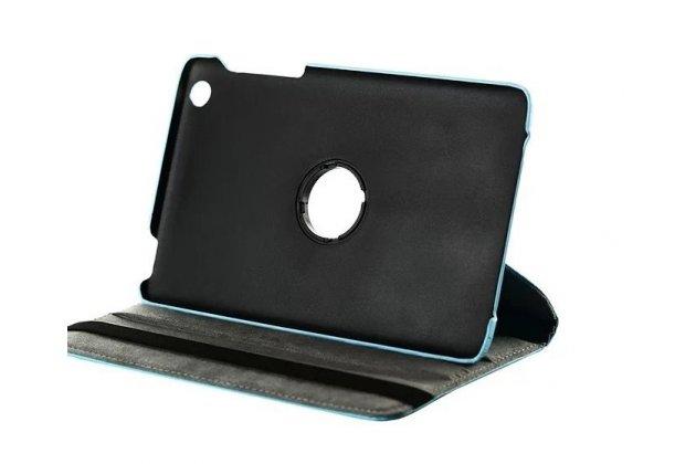Чехол для Lenovo Ideatab A5500/A8-50 поворотный роторный оборотный черный кожаный
