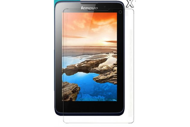 Фирменная оригинальная защитная пленка для планшета Lenovo Ideatab A5500/A8-50 матовая