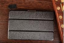 """Фирменный умный чехол самый тонкий в мире для Lenovo Ideatab A5500-h/A8-50 """"Il Sottile"""" черный пластиковый Италия"""