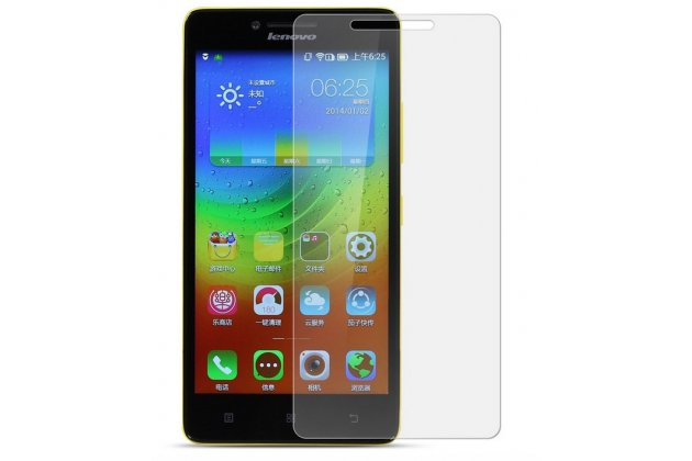 Фирменная оригинальная защитная пленка для телефона Lenovo K3/K30/A6000/A6010 Plus глянцевая