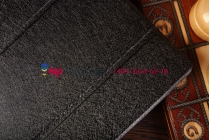 Фирменный чехол-обложка для Lenovo Miix 2 10.1 (59415860) черный кожаный
