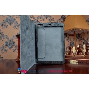Фирменный чехол обложка для Lenovo Miix 3 8.0 дюймов черный кожаный