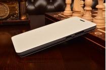 """Фирменный чехол-книжка водоотталкивающий с мульти-подставкой на жёсткой металлической основе для Lenovo Phab Plus PB1-770N/770M 6.8"""" ZA070019RU белый"""