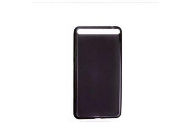 """Фирменная ультра-тонкая полимерная из мягкого качественного силикона задняя панель-чехол-накладка для Lenovo Phab Plus PB1-770N/770M 6.8"""" ZA070019RU черная"""