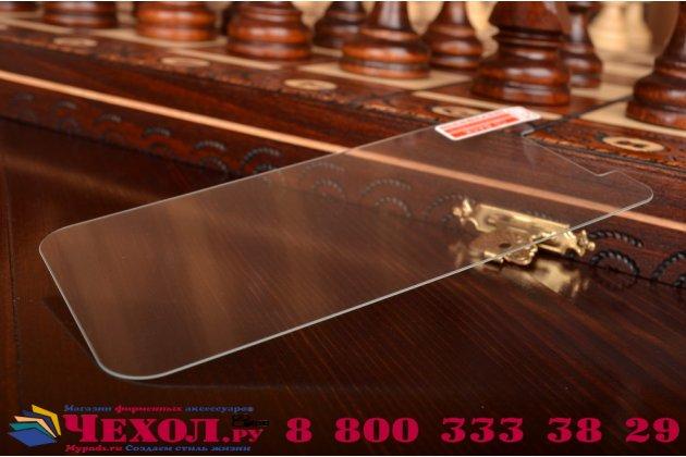 Фирменное защитное закалённое стекло премиум-класса из качественного японского материала с олеофобным покрытием для Lenovo S650