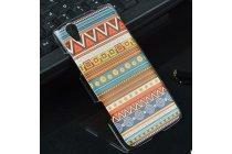 Фирменная роскошная задняя панель-чехол-накладка с безумно красивым расписным эклектичным узором на Lenovo S960 Vibe X