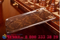 Фирменная роскошная задняя панель-чехол-накладка с расписным узором для Lenovo S960 Vibe X прозрачная черная