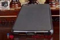 Фирменная ультра-тонкая полимерная мягкая задняя панель-чехол-накладка для Lenovo Sisley S90 черная