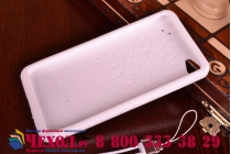 """Фирменная необычная уникальная полимерная мягкая задняя панель-чехол-накладка для Lenovo Sisley S90 """"тематика Андроид в Белом Шоколаде"""""""