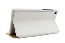 """Фирменный чехол-футляр-книжка для Lenovo TAB 2 A7-30DC / A7-30F/A7-30GC/A7-30HC 7.0"""" белый кожаный"""