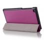 Фирменный умный чехол-книжка самый тонкий в мире для Lenovo TAB 2 A7-30DC / A7-30F/A7-30GC/A7-30HC 7.0