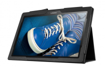 Чехол для Lenovo Tab 2 A10-30 / A10-30L / ZA0D0048RU / ZA0D0053RU /TAB 2 X30 16GB LTE / TB2-X30L  черный кожаный