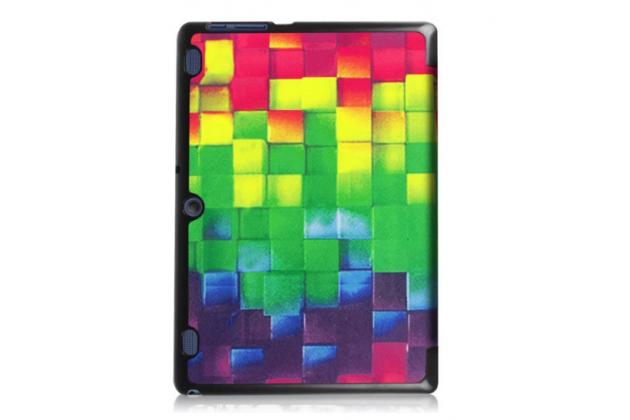 """Фирменный необычный чехол для  Lenovo Tab 2 A10-30 / A10-30L / ZA0D0048RU / ZA0D0053RU /TAB 2 X30 16GB LTE / TB2-X30L  """"тематика яркая Мозаика"""""""