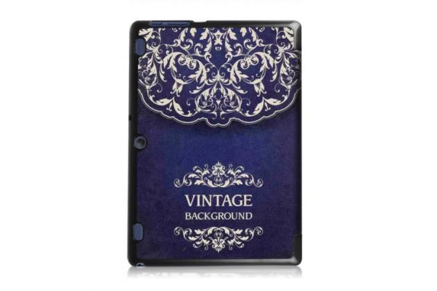 """Фирменный необычный чехол для Lenovo Tab 2 A10-30 / A10-30L / ZA0D0048RU / ZA0D0053RU /TAB 2 X30 16GB LTE / TB2-X30L  """"тематика книга в Винтажном стиле"""""""