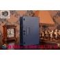 Фирменный чехол обложка для Lenovo TAB 2 A10-70F / Tab 2 A10-70L синий кожаный..