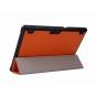 Фирменный умный чехол-книжка самый тонкий в мире для Lenovo Tab 2 A10-70L / A10-70F (MediaTek MT8732/10.1