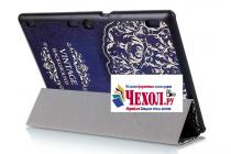 Фирменный необычный чехол для Lenovo Tab 3 Business X70L/ X70F/ TB3-X70L тематика книга в Винтажном стиле