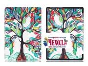 Фирменный необычный чехол для Lenovo Tab 3 Business X70L/ X70F/ TB3-X70L тематика книга Сказочное Дерево..