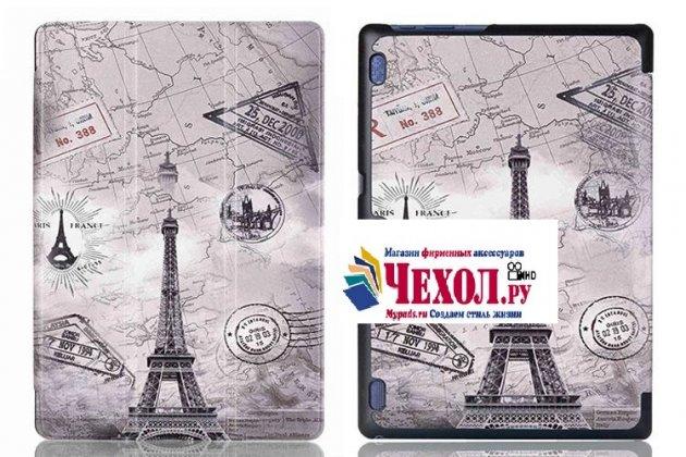 Фирменный необычный чехол для Lenovo Tab 3 Business X70L/ X70F/ TB3-X70L тематика Париж