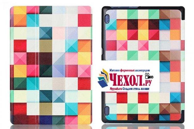 Фирменный необычный чехол для Lenovo Tab 3 Business X70L/ X70F/ TB3-X70L тематика Яркая Мозаика