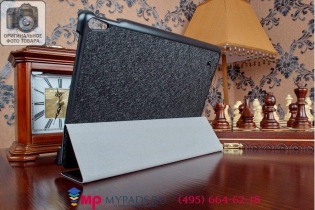 """Фирменный умный чехол самый тонкий в мире для Lenovo ThinkPad Tablet 10 New Z3795 / Gen 2 20E30012RT (Intel Atom x7 Z8700) """"Il Sottile"""" черный пластиковый"""