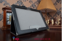 Фирменный чехол обложка для Lenovo ThinkPad Tablet 10 New Z3795 (20C1A00JRT)/ Gen 2 20E30012RT (Intel Atom x7 Z8700) черный кожаный