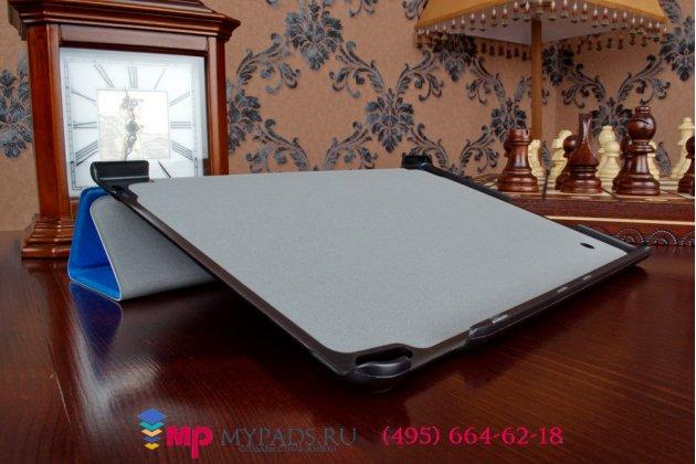 """Фирменный умный чехол-книжка самый тонкий в мире для Lenovo ThinkPad Tablet 10 New (20C1A00JRT) / Gen 2 20E30012RT (Intel Atom x7 Z8700)  """"Il Sottile"""" голубой пластиковый"""