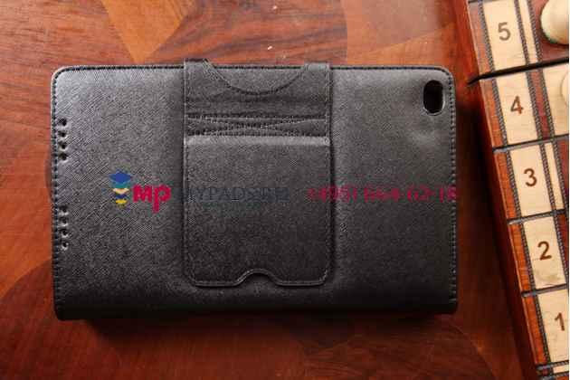 Фирменный оригинальный чехол-клавиатура для Lenovo Thinkpad 8 черный кожаный + гарантия