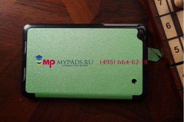 """Фирменный умный чехол самый тонкий в мире для Lenovo Thinkpad 8 """"Il Sottile"""" зеленый пластиковый Италия"""