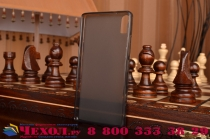 Фирменная ультра-тонкая полимерная из мягкого качественного силикона задняя панель-чехол-накладка для Lenovo Vibe Shot Z90/Z90-3/Z90-7/Z90-A40/Z90A40 LTE 5.0 черная