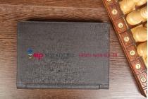 Фирменный оригинальный чехол со съёмной Bluetooth-клавиатурой для Lenovo Yoga Tablet 10 B8000/B8080 черный кожаный + гарантия