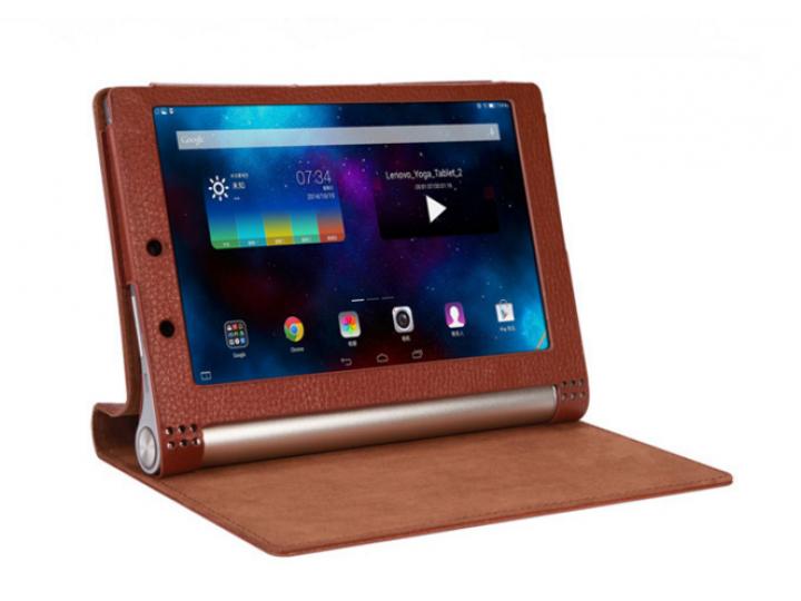Чехол закрытого типа с отделением под аккумулятор для Lenovo Yoga Tablet 2 10.1 4G (1050L/1051L) / Yoga Tablet..