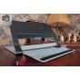 Фирменный чехол закрытого типа с отделением под аккумулятор для Lenovo Yoga Tablet 10 HD+ B8080-h черный кожан..